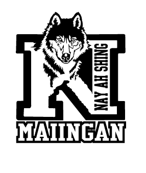 2012-maiingan-wolf-pack nay ah shing spirit wear, nay ah shing wolves custom printed apparel, nay ah shing onamia mn screen prints